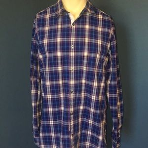 Gap long sleeve men's collard button up shirt